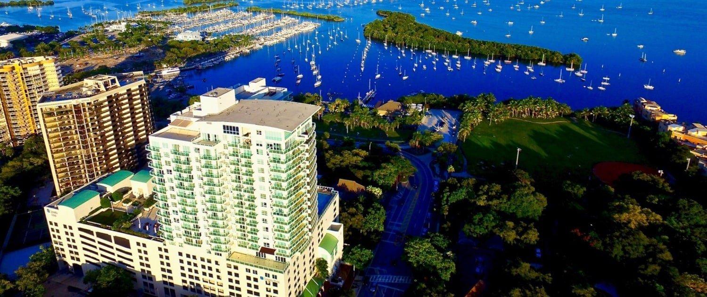 iCoconutgrove Aria Hotel Coconut Grove Miami FL Arial View