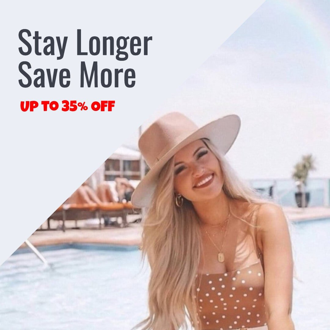 special promo stay longer save more