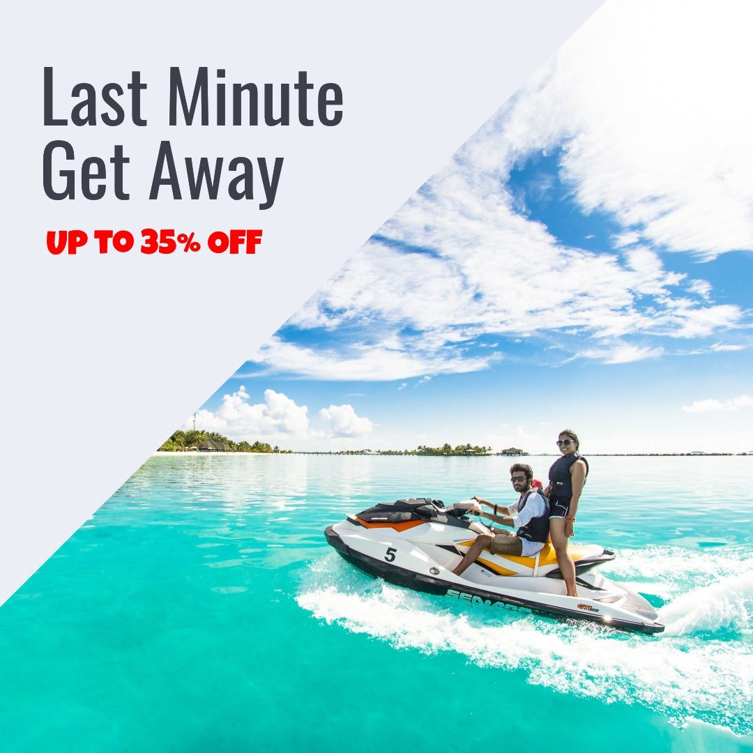 special promotion last minute get away